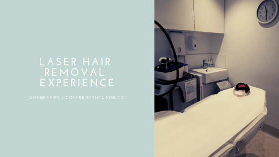 Underarm Laser Hair Removal Experience Coffee With Claire